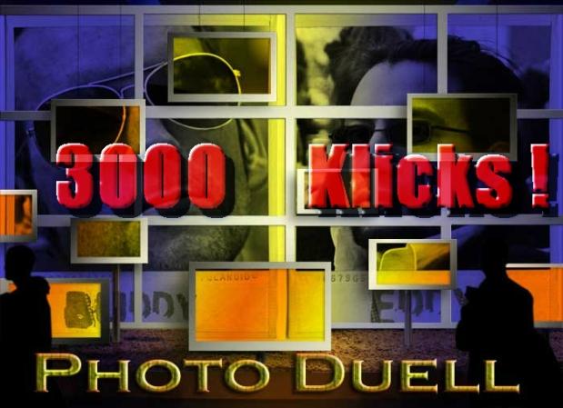 3000 Photo Duell Klicks - DANKE !