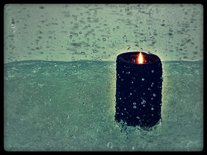 Rain can´t stop my fire - PD